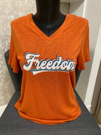 Top freedom orange