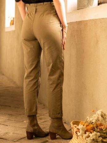 Pantalon Edmée (kaki)