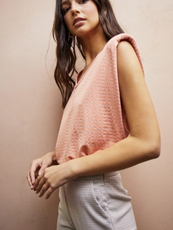 Teeshirt Crawford corail